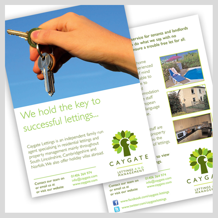Caygate Lettings flyer