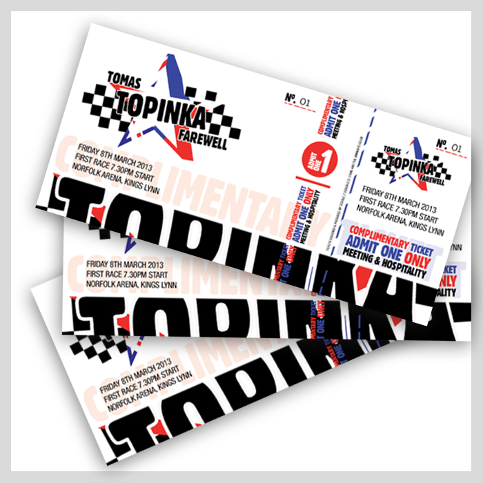 Tomas Topinka tickets